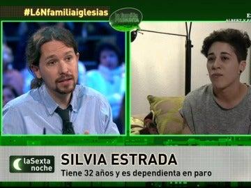 Iglesias contesta a Silvia Estrada