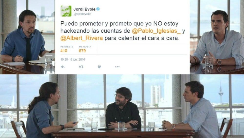 Tweet de Jordi Évole