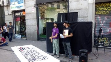 Los titiriteros que detuvieron en Madrid