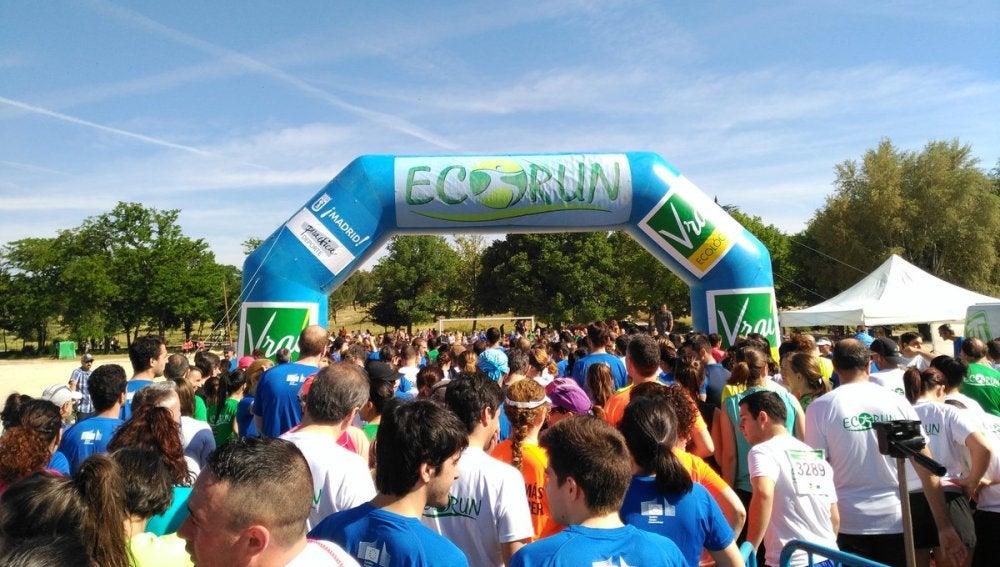 Miles de personas participan en la Carrera por el Medio Ambiente, Ecorun, celebrada en Madrid
