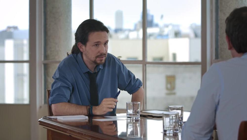 Pablo Iglesias, en Salvados