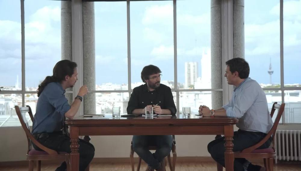 Cara a cara, Albert Rivera - Pablo Iglesias, en Salvados