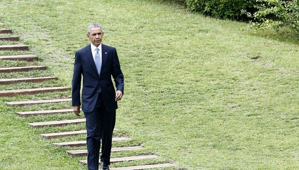 El presidente estadounidense Barack Obama