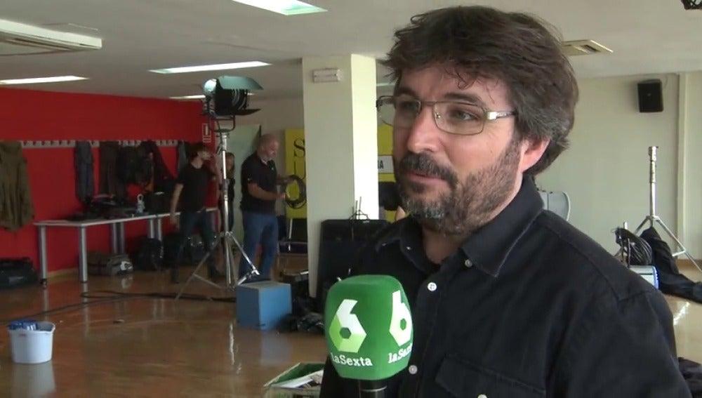 """Frame 11.617957 de: Jordi Évole: """"El cara a cara lo han perdido Iglesias y Rivera, lo que menos necesita España es subir la crispación"""""""