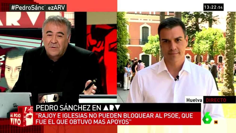 Pedro Sánchez en ARV