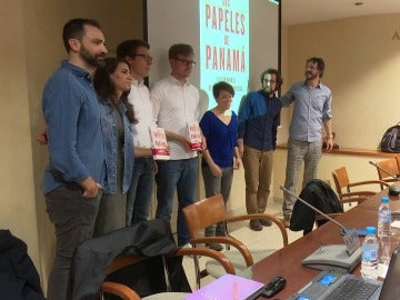 Presentación del libro 'Los papeles de Panamá'