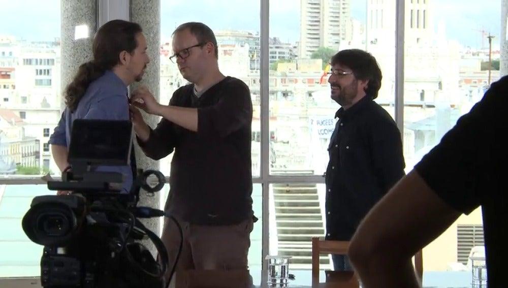 Frame 55.801874 de: El making-off: así valoran Pablo Iglesias y Albert Rivera su cara a cara en Salvados