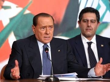 El exprimer ministro italiano, Silvio Berlusconi