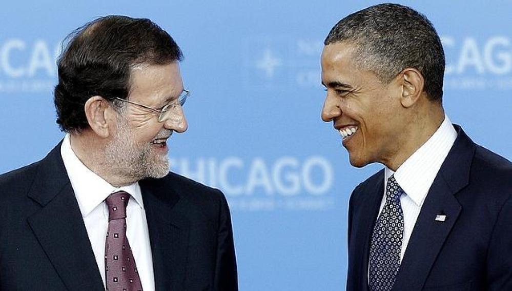 Barack Obama y Mariano Rajoy