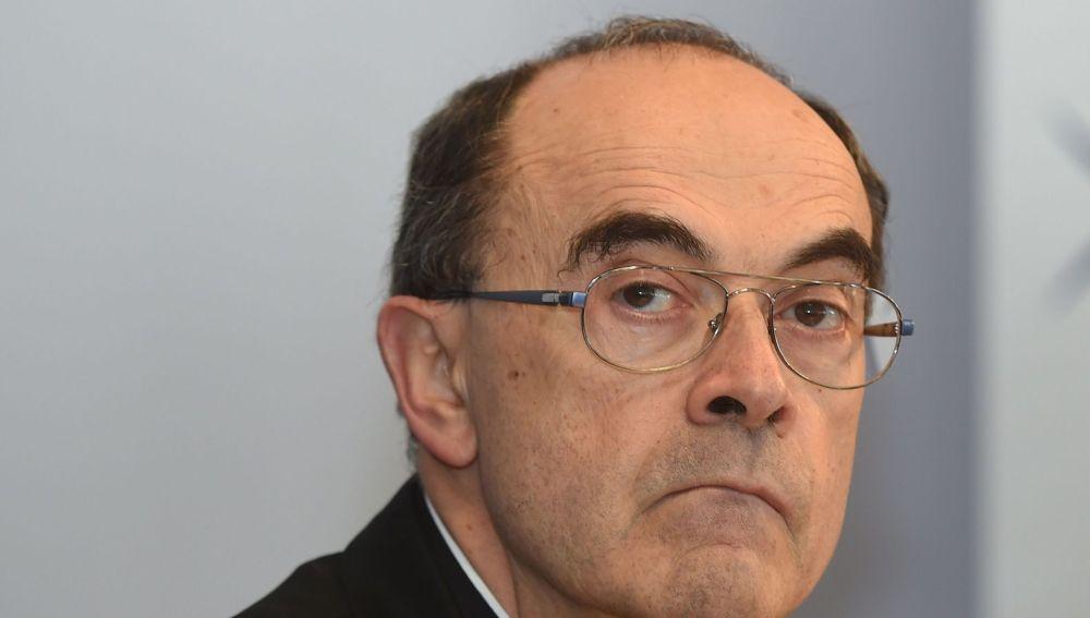 El arzobispo de Lyon Philippe Barbarin