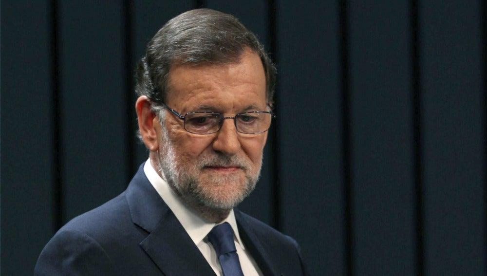 Rajoy en el debate a cuatro