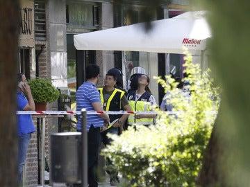 Un policía se atrinchera en un restaurante en Alcobendas