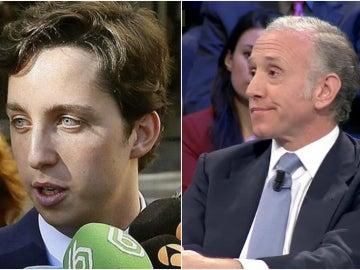 Francisco Nicolás y el periodista Eduardo Inda