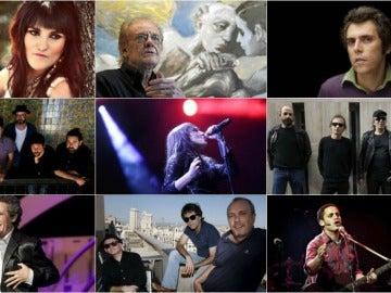 Algunos de los cantantes que actuarán en #MiMúsicaTuRefugio