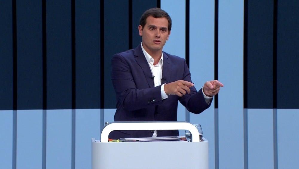 Albert Rivera, candidato de Ciudadanos a las Elecciones Generales
