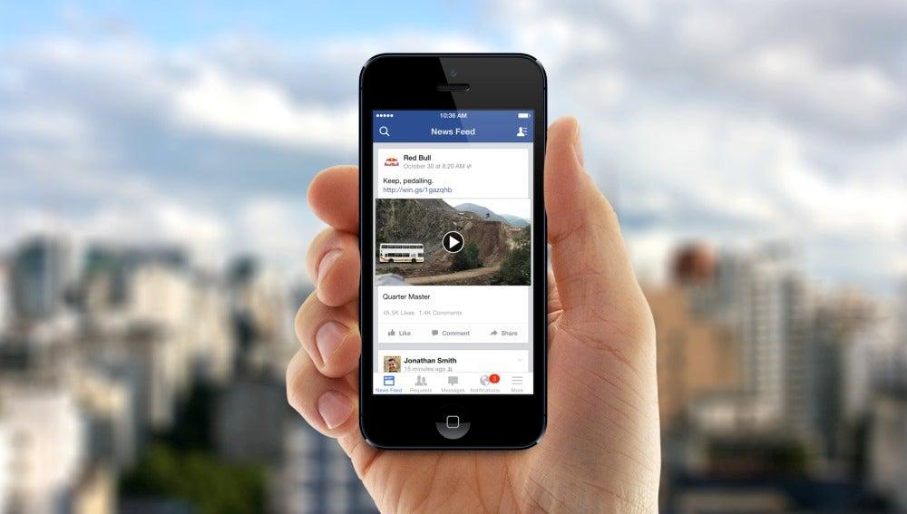 Facebook se llenará de vídeos en 5 años