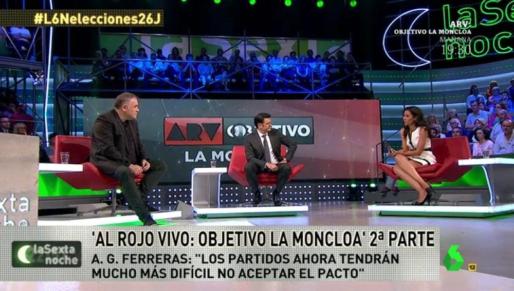 Frame 50.535541 de: ¿Descartan Antonio García Ferreras y Ana Pastor unas terceras elecciones?