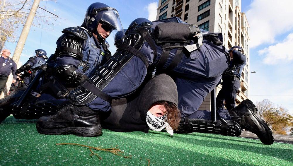 Disturbios en Australia