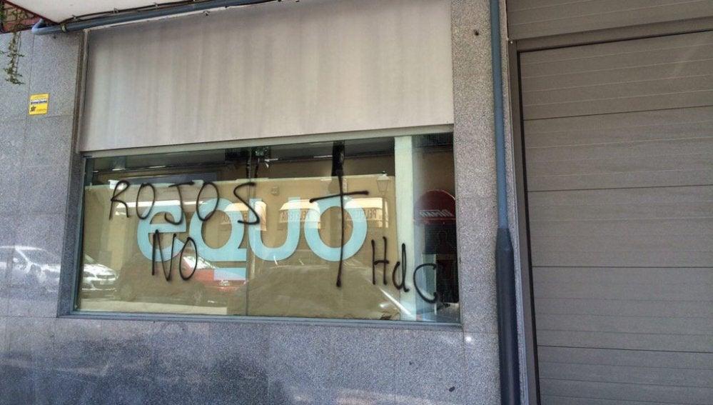 Sede de Equo en Madrid