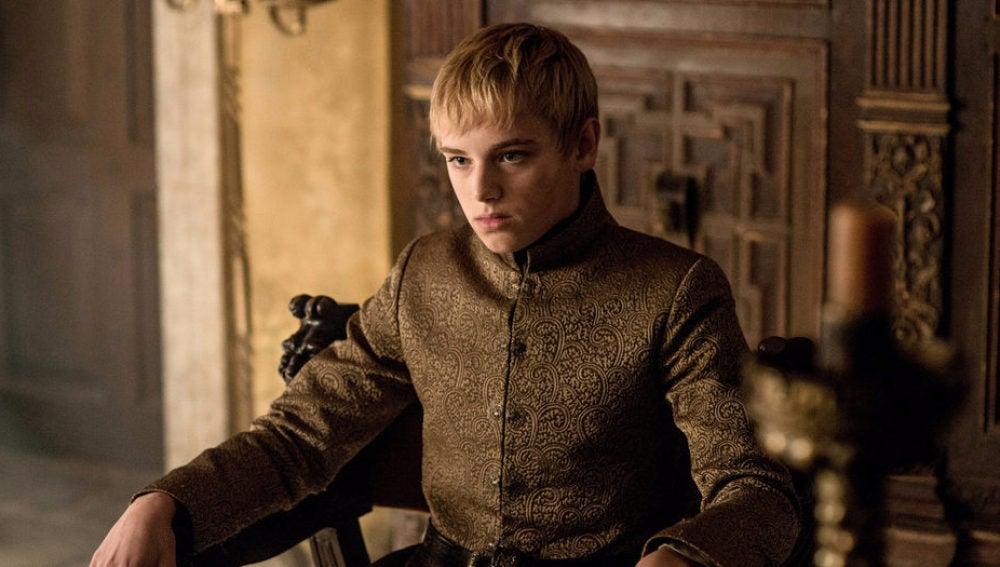 Tommen Baratheon en uno de los capítulos de Juego de Tronos