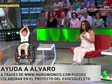 Ana, madre de Álvaro