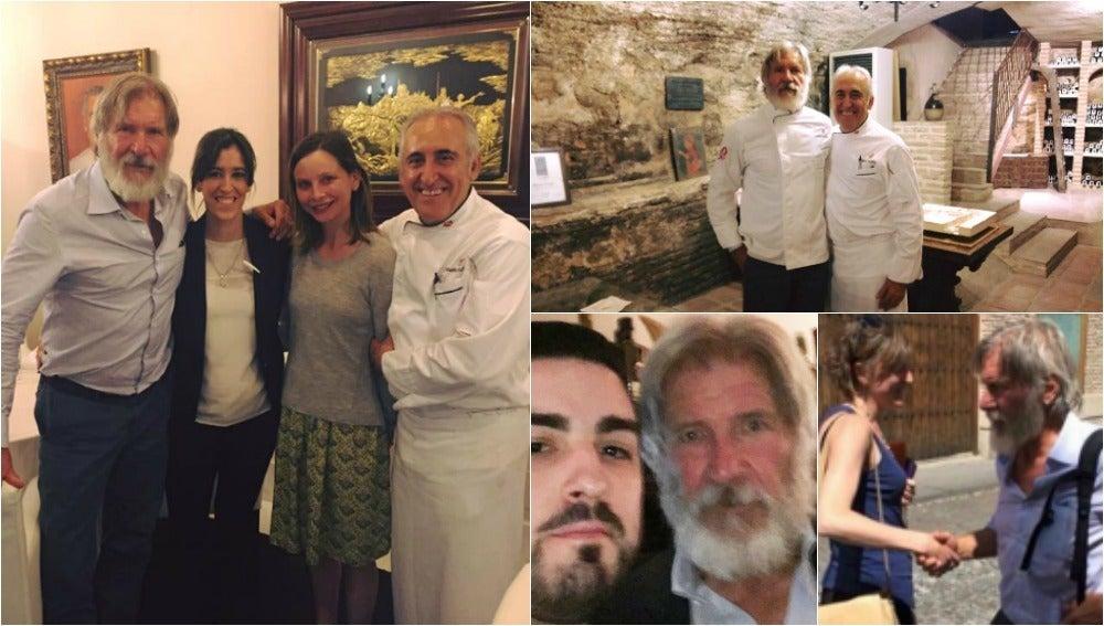 La visita de Harrison Ford a España