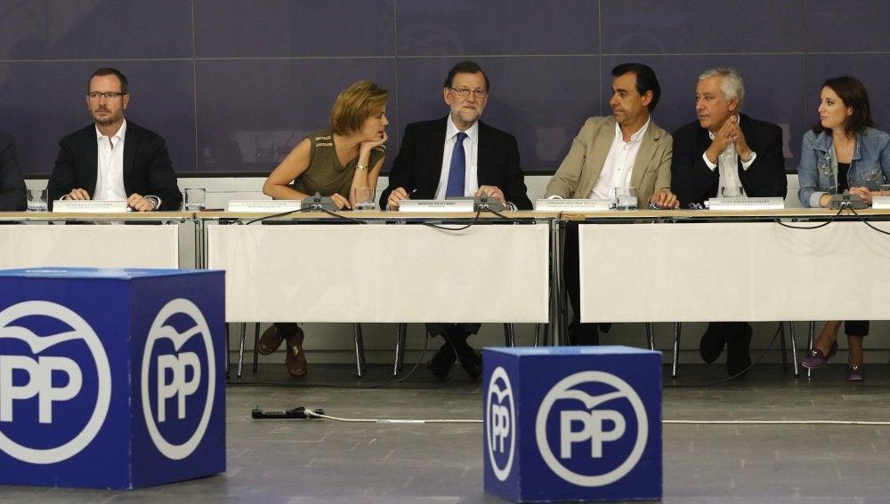 Reunión del Comité Ejecutivo Nacional del PP tras las elecciones del 26J