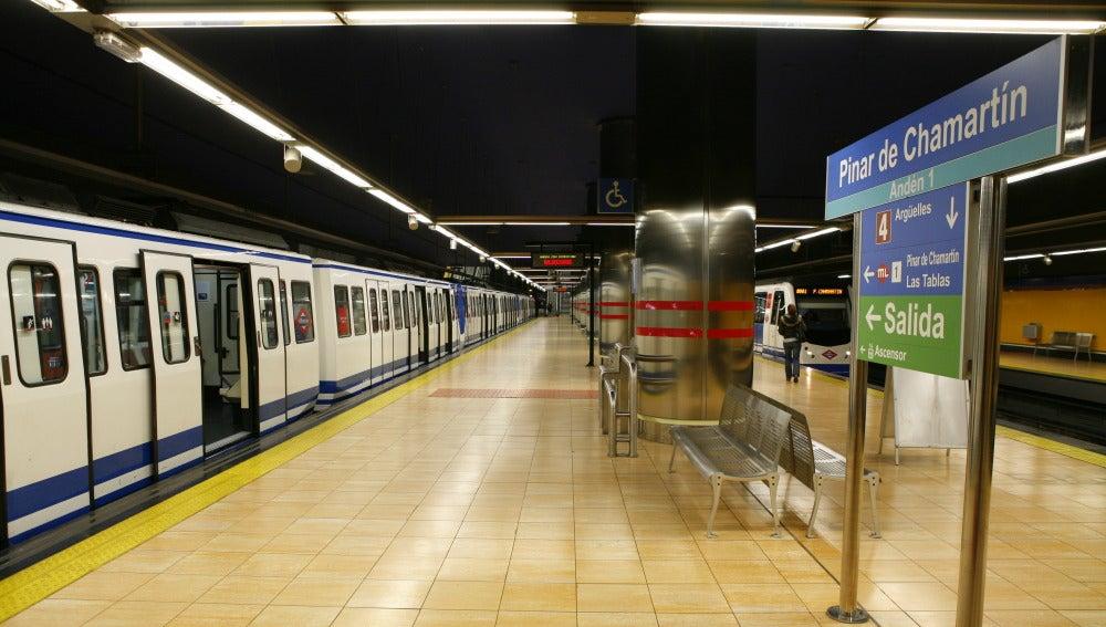 Una estación de la línea 1 del Metro de Madrid