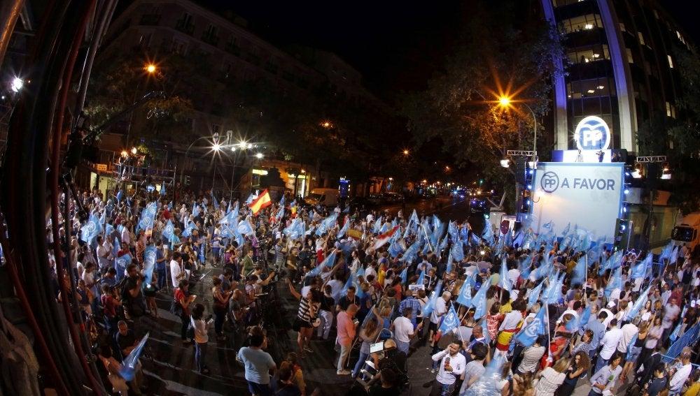Fiesta en Génova