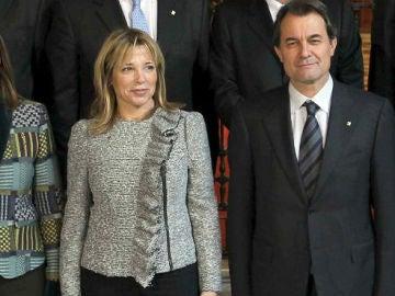 Irene Rigau, Joana Ortega y Artur Mas