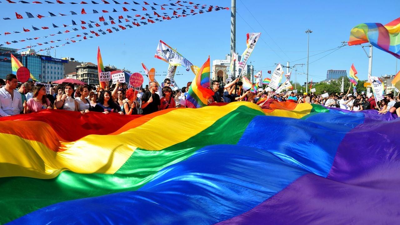 Manifestación por el Orgullo Gay