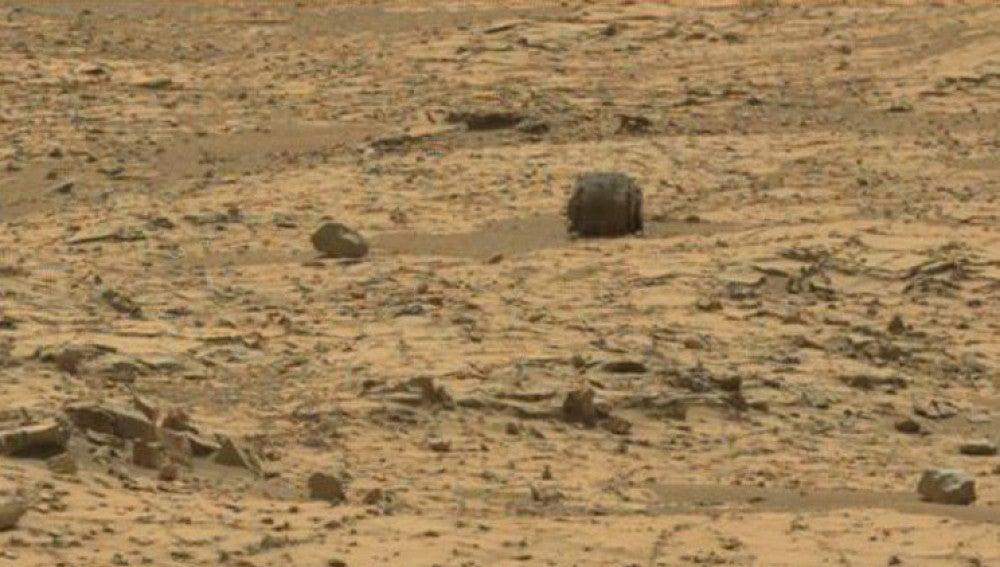 Imagen de la NASA en Marte