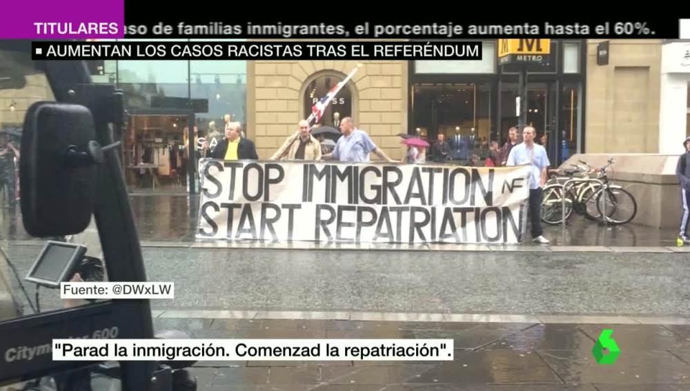 Xenofobia en Reino Unido