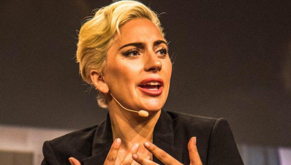 Lady Gaga en la Reunión Anual de Alcaldes de Estados Unidos