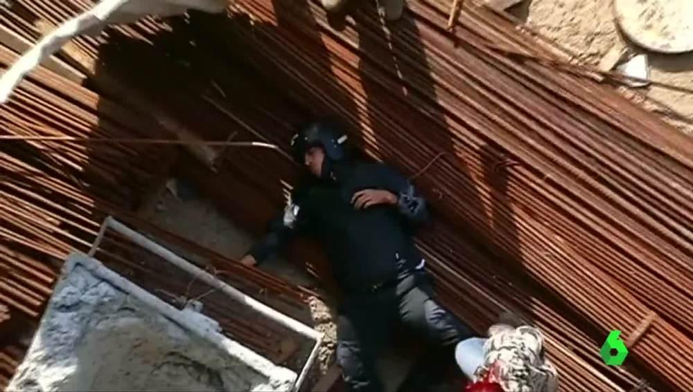 Accidente de moto en Río de Janeiro