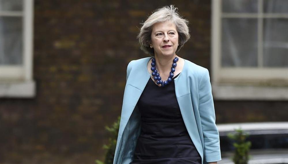 La ministra del Interior, Theresa May