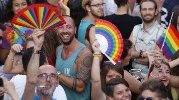 Fiestas del Orgullo Gay en Madrid