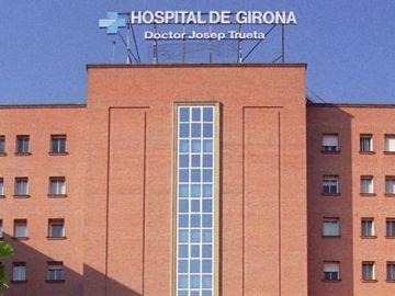 Imagen de la fachada del Hospital de Girona