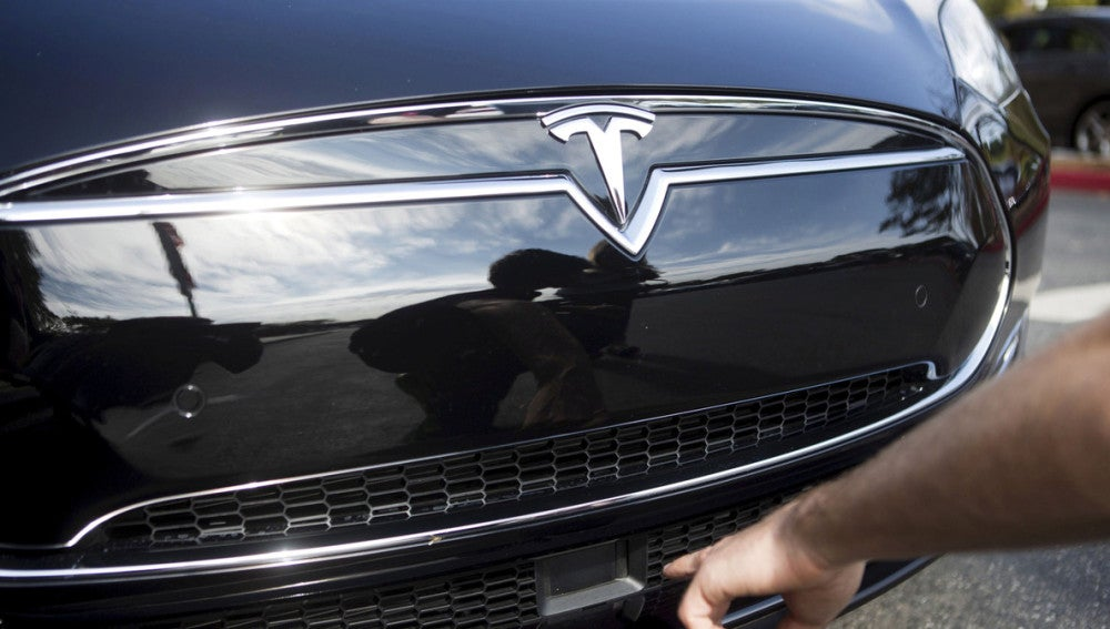 Un coche de Tesla