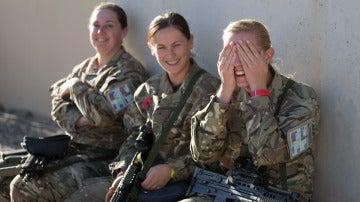 Mujeres soldado en Afganistán