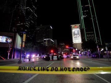 La policía de Dallas, tras el tiroteo