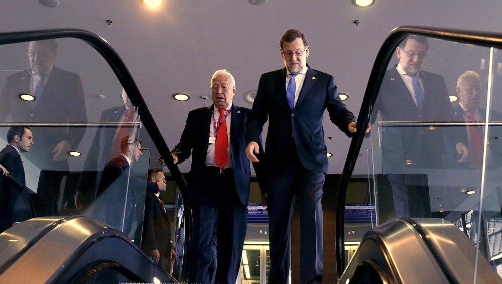 Rajoy ratifica su intención de pedir a la Comisión Europea un año de prróroga para cumplir con el déficit