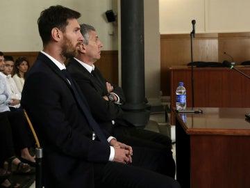 Messi, en su juicio
