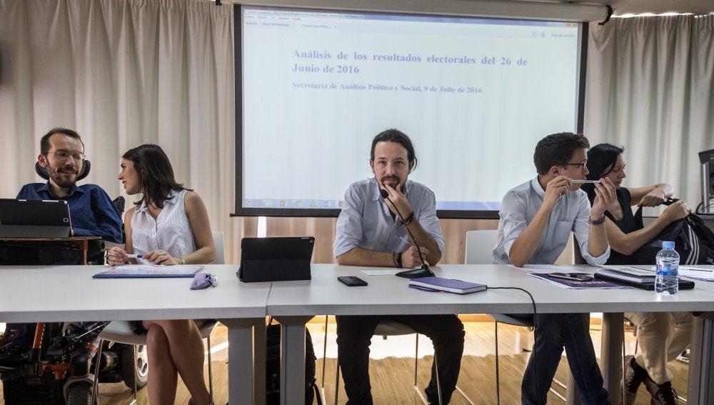 """Pablo Iglesias, sobre le futuro de Unidos Podemos: """"Vamos a ser una fuerza política crucial"""""""