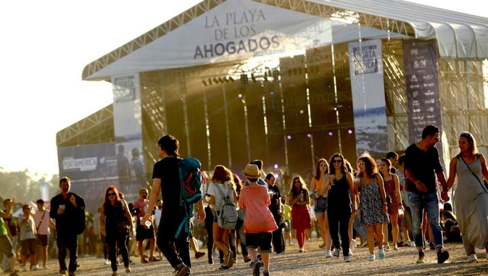 Ambiente en el festival PortAmérica