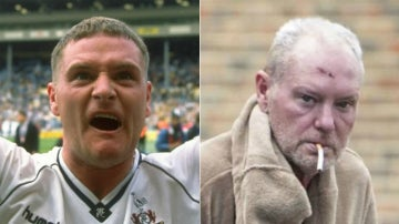 El antes y el después de Paul Gascoigne