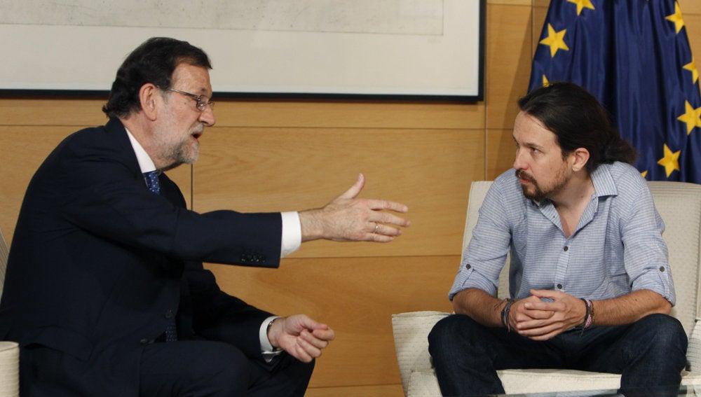 Rajoy se reúne con Iglesias