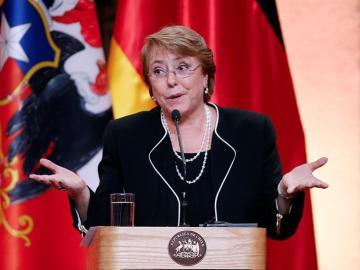 Michelle Bachelet, expresidenta de Chile