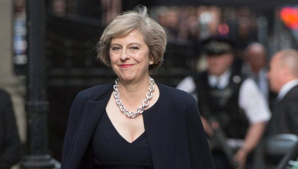 Primera ministra británica, Theresa May