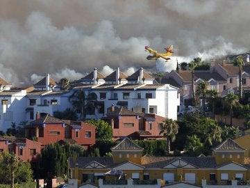 Incendio en la Línea de la Concepción